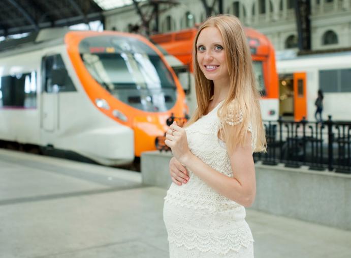 Поезд и беременность