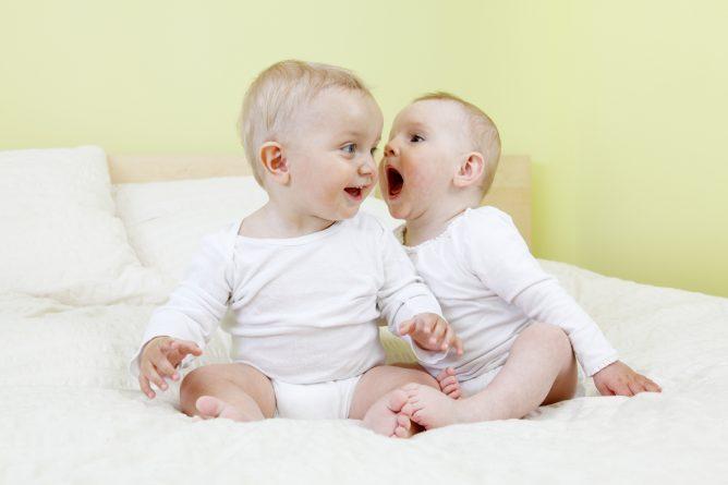 общение маленьких детей