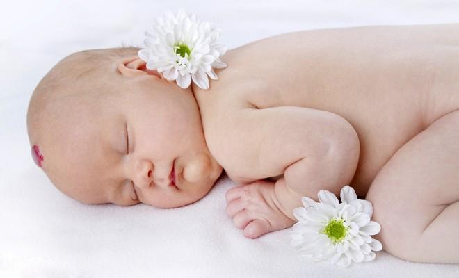 Гемангиома у новорожденного ребенка на голове
