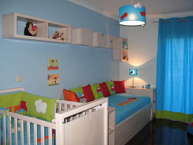 комната для маленького ребенка