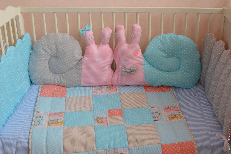 Бортики для новорожденных