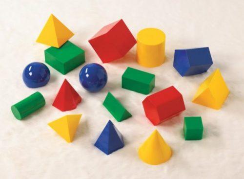 Геометрические фигуры для развития ребенка